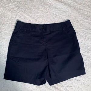 Talbots Women's navy Blue Shorts Size Petite 2P